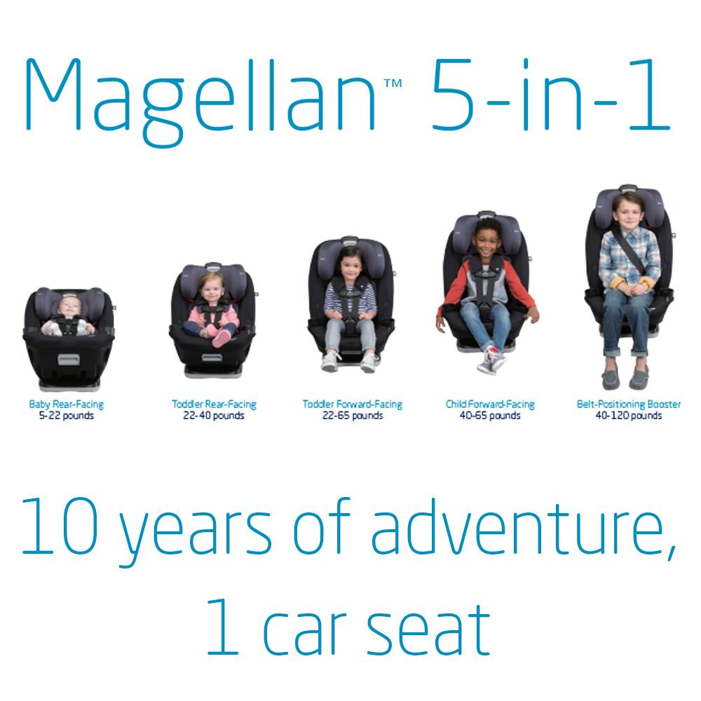 Maxi-Cosi Magellan 5-in-1 Convertible Car Seats - ZukaBaby