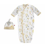 Magnetic Me Magnetic Me Modal Gown & Hat Set - Yellow Up In The Air 0-3mo