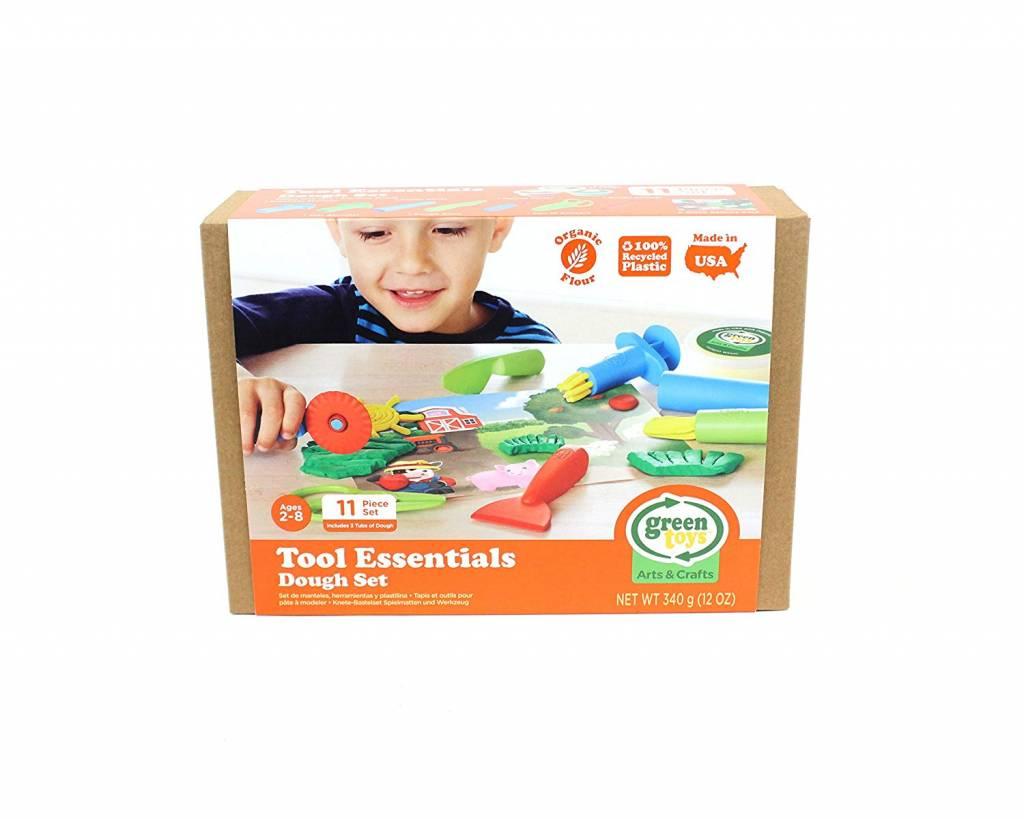 Green Toys Tool Essentials Dough Set