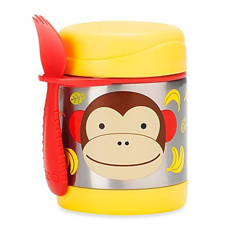 Skip Hop Zoo Insulated Lunch Food Jar