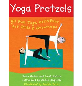 putumayo Barefoot Yoga Pretzels Activity Book