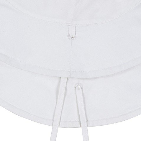 LASSIG Sun Protection Bucket Hat - White