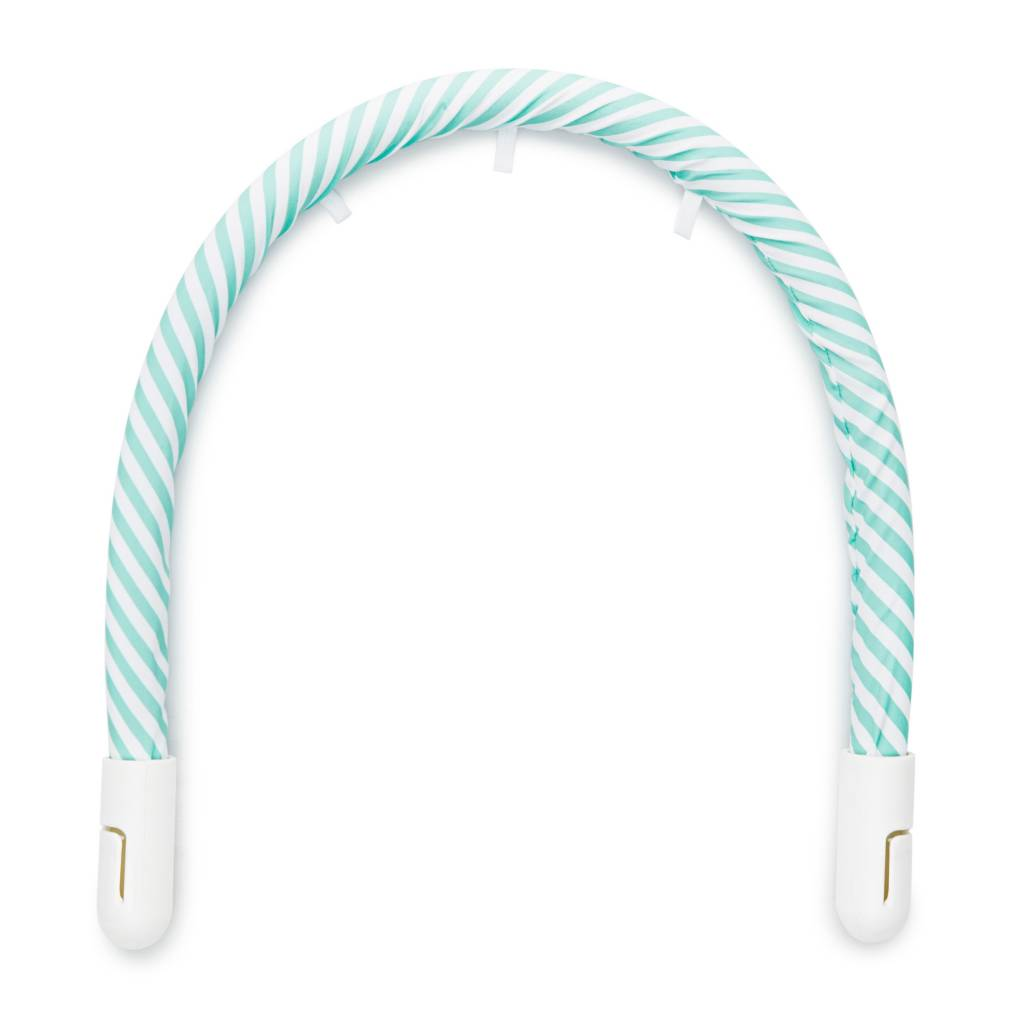 DockATot DockATot Toy Bar Aqua/White Stripe