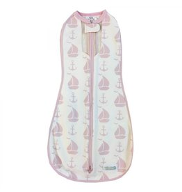 Woombie Woombie Air Coastal Pink Boats 3-6mo