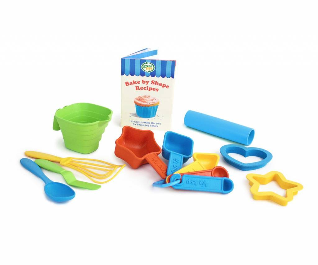 Green Toys Sesame Street 15-pc Set for Little Chefs (Ages 2-8)