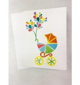 Megan Jewel Designs Welcome Baby Card - Local & Handmade