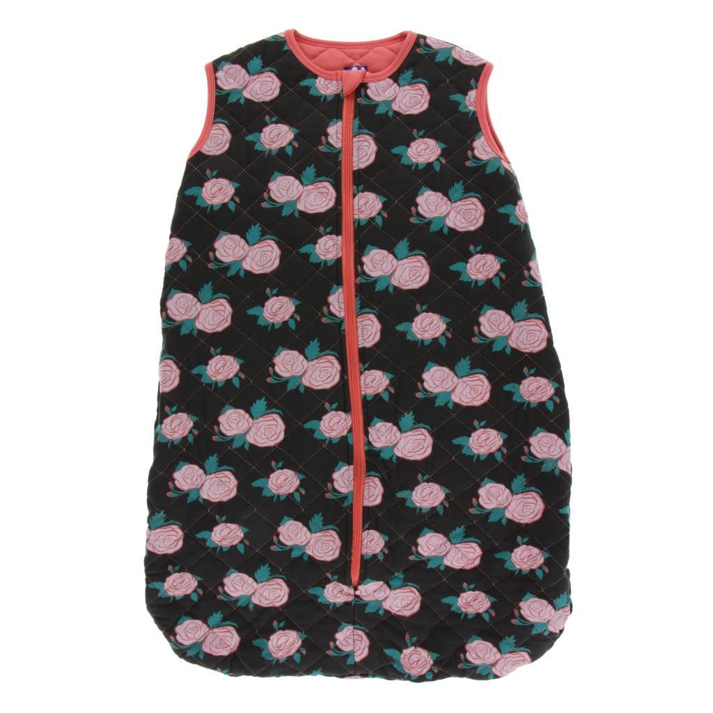KicKee Pants KicKee Pants Print Lightweight Sleeping Bag- English Rose Garden