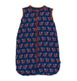 KicKee Pants KicKee Pants Print Lightweight Sleeping Bag- Navy Fox