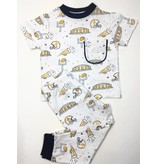 Nola Tawk Saints Black & Gold Organic Toddler PJ's