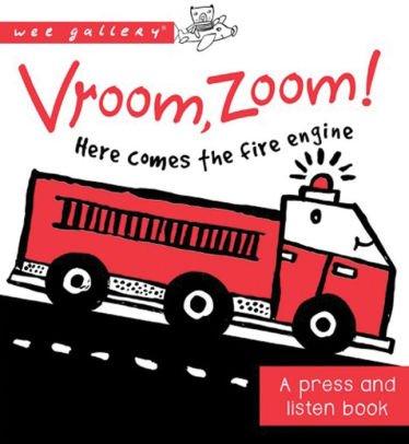 Vroom, Zoom! Board Book