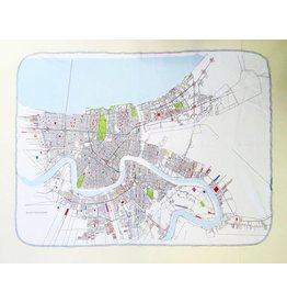 Ellen Macomber NOLA Map Blanket