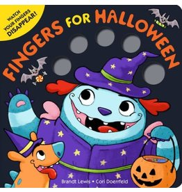 Fingers for Halloween Board Book