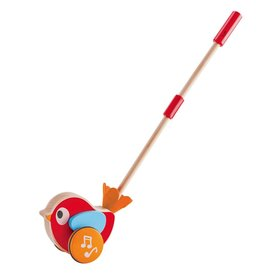 Hape Lilly Bird Musical Push Along Toy