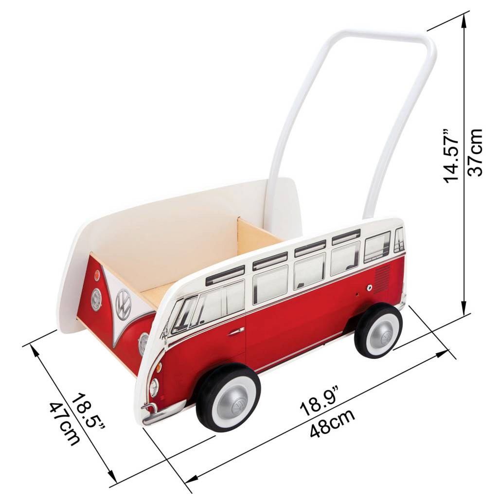 Hape Classical Bus Walker