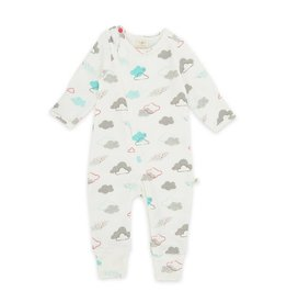 Tiny Twig Tiny Twig Organic Zipsuit Home School