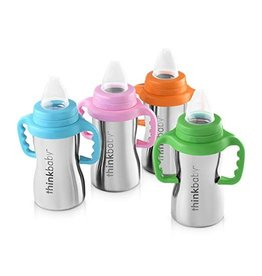 thinkbaby thinkbaby Sippy of Steel 9oz-