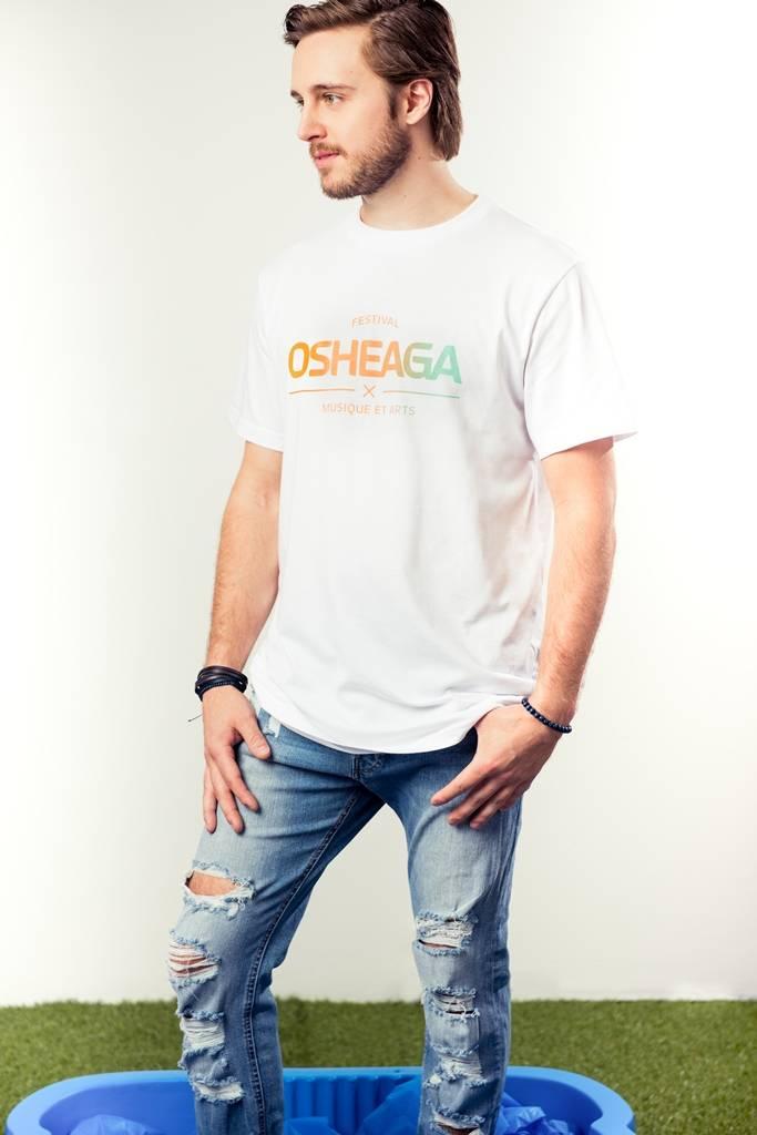 Osheaga T-SHIRT LOGO PASTEL M&A - OFFICIEL 2017 (UNISEXE)