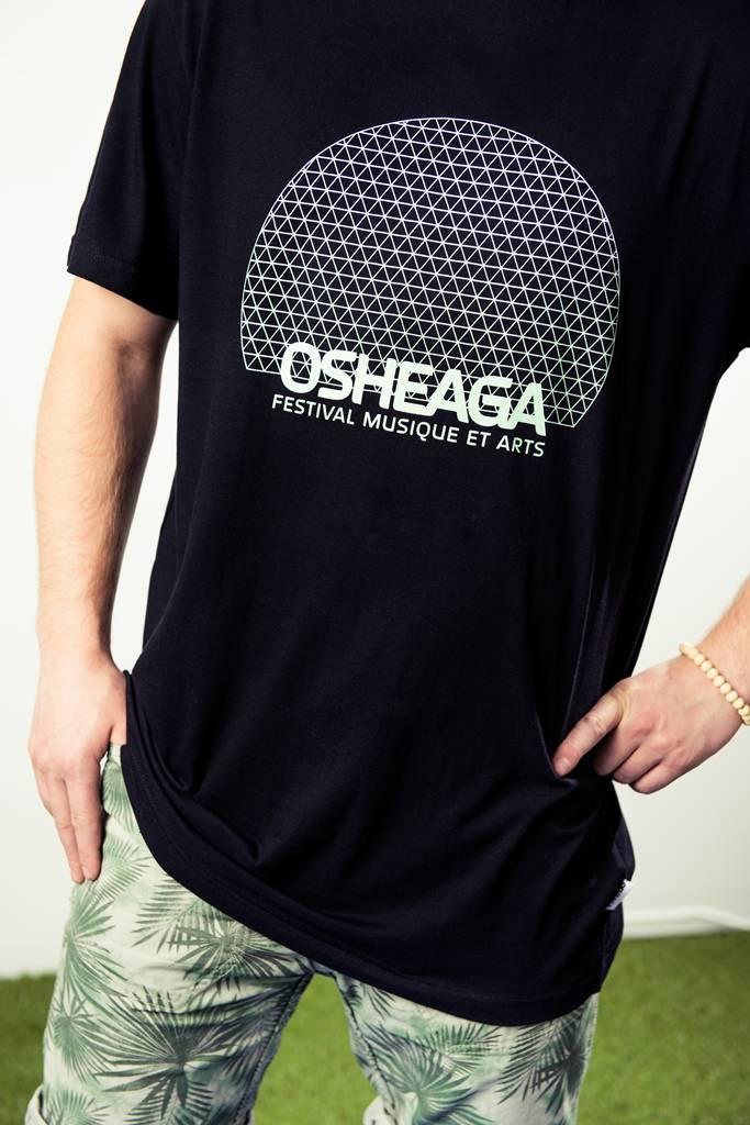 Osheaga T-SHIRT BIOSPHERE - OFFICIEL 2017 (UNISEXE)