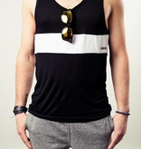 Osheaga WHITE STRIPE TANK TOP (UNISEX)