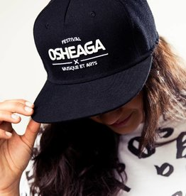 Osheaga BLACK SNAPBACK M&A LOGO HAT