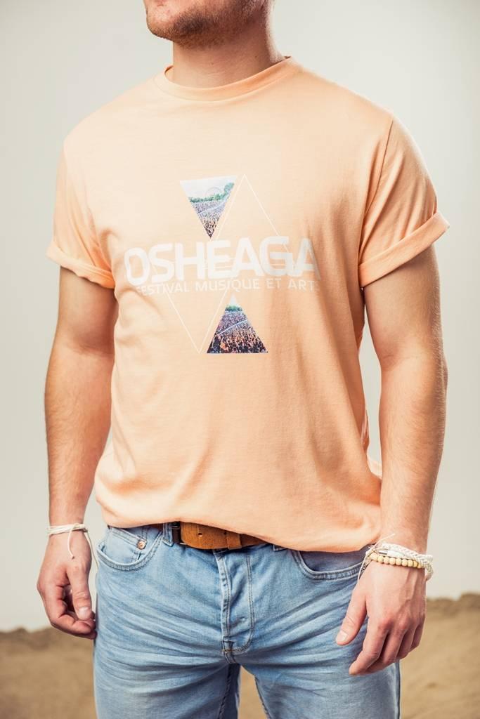 Osheaga T-SHIRT VILLE TRIANGULAIRE (UNISEXE)