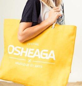 Osheaga M&A LOGO YELLOW BEACH BAG