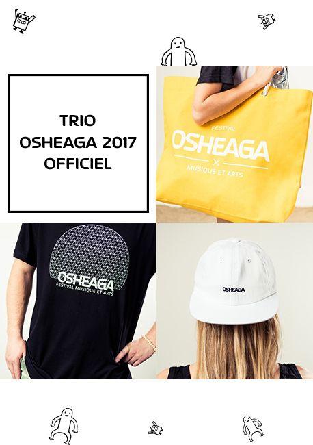 TRIO OSHEAGA OFFICIEL 2017 GRAND