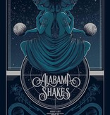 Musique sur papier SCREEN PRINT POSTER ALABAMA SHAKES