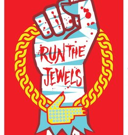 Musique sur papier SERIGRAPHIE RUN THE JEWELS