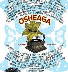Musique sur papier SCREEN PRINT OFFICIAL POSTER 2010
