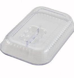 "Winco Deli Crock Cover, 10"" x 7"""
