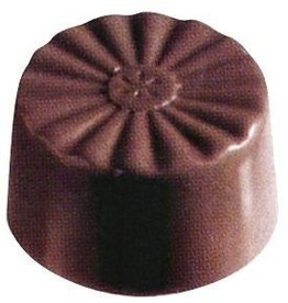 Fat Daddio's Scalloped Candy Mold, 24 Cavities