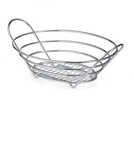 "Tablecraft Oval Display Basket, 13-3/4"" x 10-3/4"" x 3-1/4"""