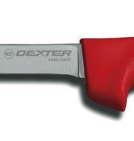 Dexter Boning Knife, Red Hdl, 6""