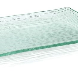 "Tablecraft Cristal Acrylic Tray, 13"" x 9"""