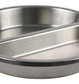 "Winco Divided Steam Table Pan, S/S, 2.4"" Deep"