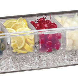 Paderno Coondiment Dispenser w/ Ice Drawer