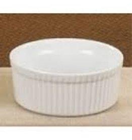 CAC Ramekin, White, 8 oz (3 Doz)