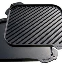 """Lodge Cast Iron Grill/Griddle, 10-1/2"""""""