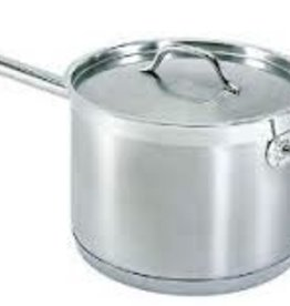Thunder Group Sauce Pan w/Lid, S/S, 10 Qt