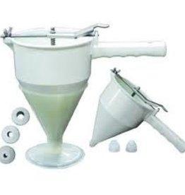 Fat Daddio's Confectionary Funnel, 3 Nozzles