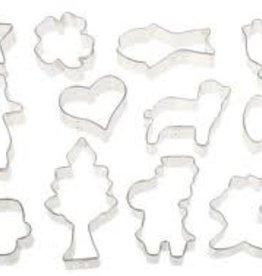 Ateco Cookie Cutter Set, 12 Pcs