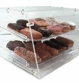 "Update International Pastry Display, 2 Tray, 21"" x 17.25"" x 12"""