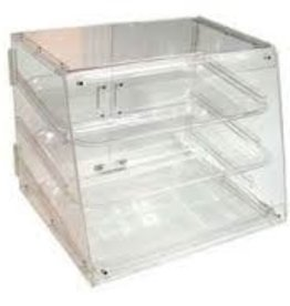 "Thunder Group Display Case, 3 Tray, 21"" x 17.25 x 16.5"""