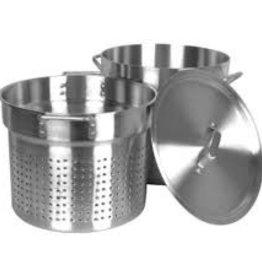 Thunder Group Pasta Cooker Set, S/S, 20 Qt