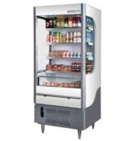 "Beverage Air VUEMAX Open-Air Merchandiser, 35"" x 31"" x 59"", 7 cu. ft."
