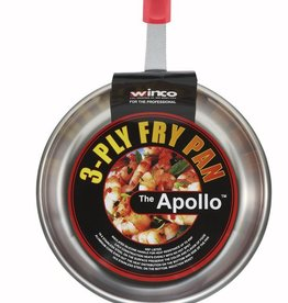 Winco Fry Pan, APOLLO, S/S, 10""