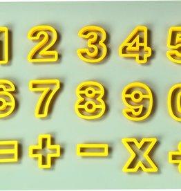 Fat Daddio's Cookie Cutter Set, Math Time!