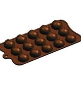 "Fat Daddio's Wrapped Mound Candy Mold, 8-1/4"" x 4-1/8"""