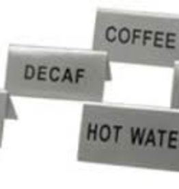 "Update International Tent Sign, S/S, ""Coffee"""